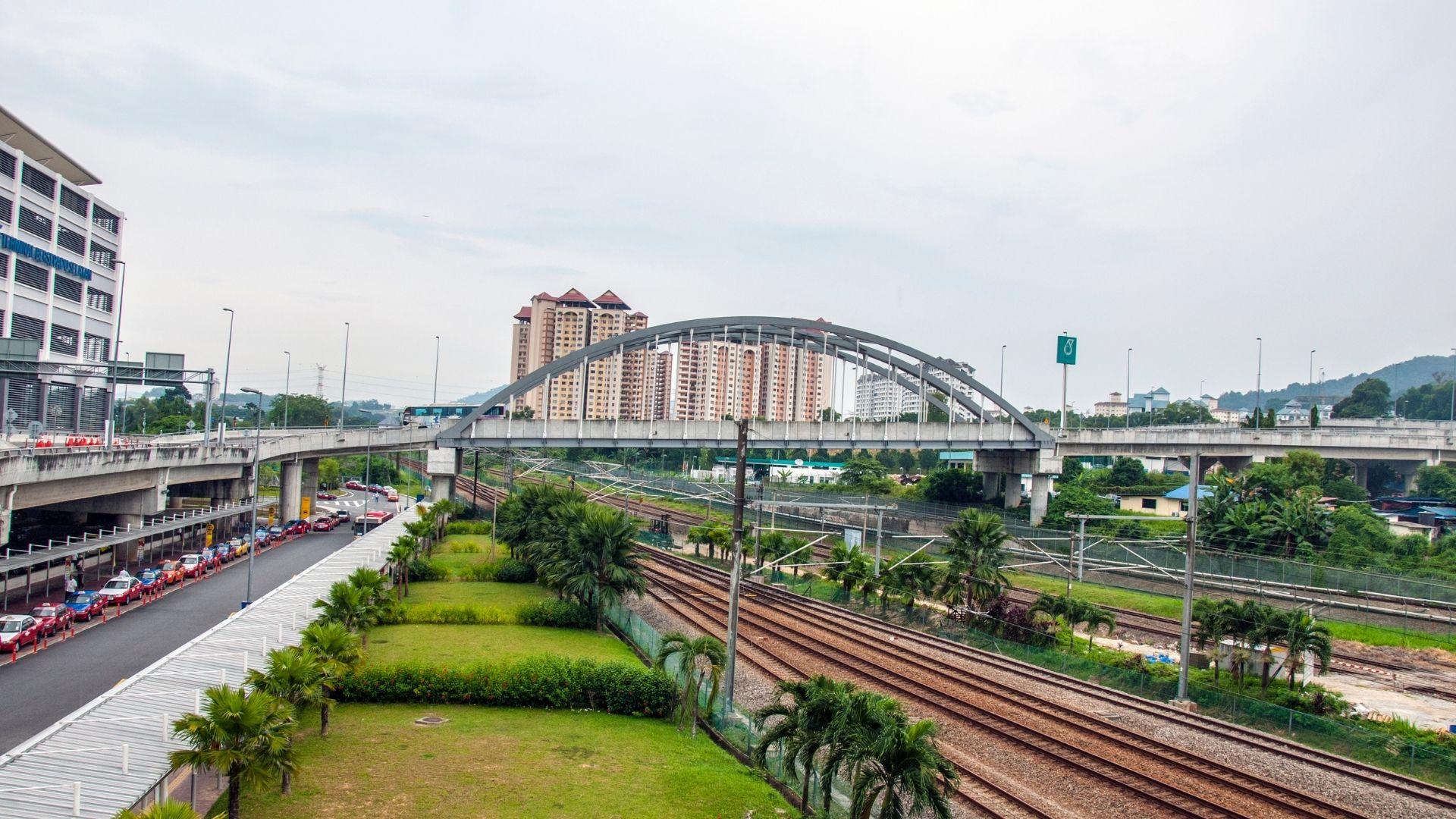El transporte en malasia