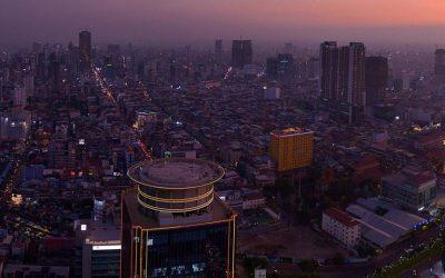 El brillo de la capital de Camboya