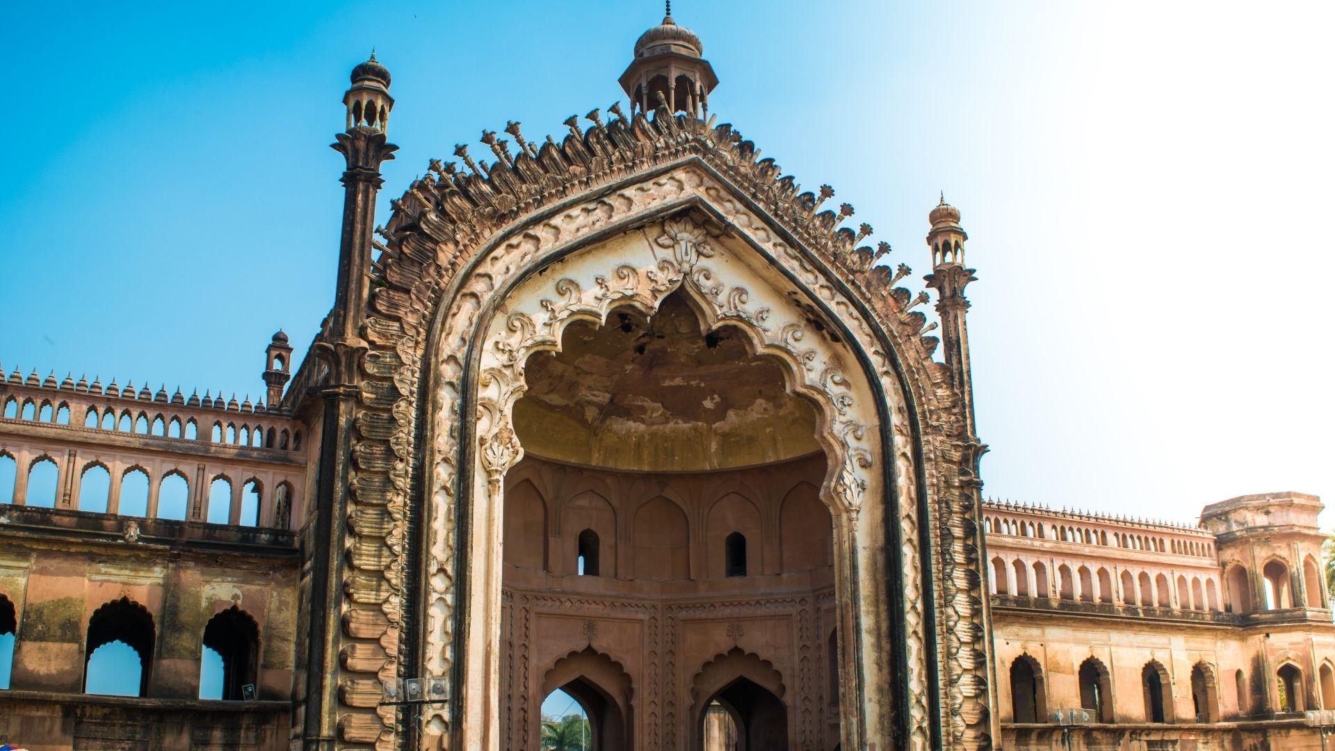 la Puerta de Rumi india lugar sagrado por donde pasa el rio Gange