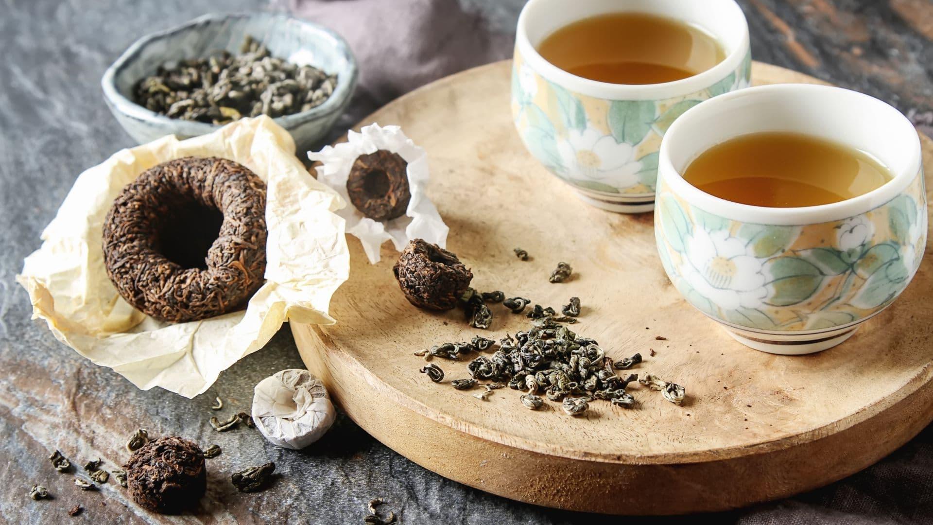 Es más común beber té que café en china
