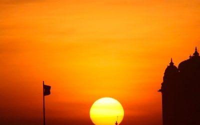 El templo del Sol en India