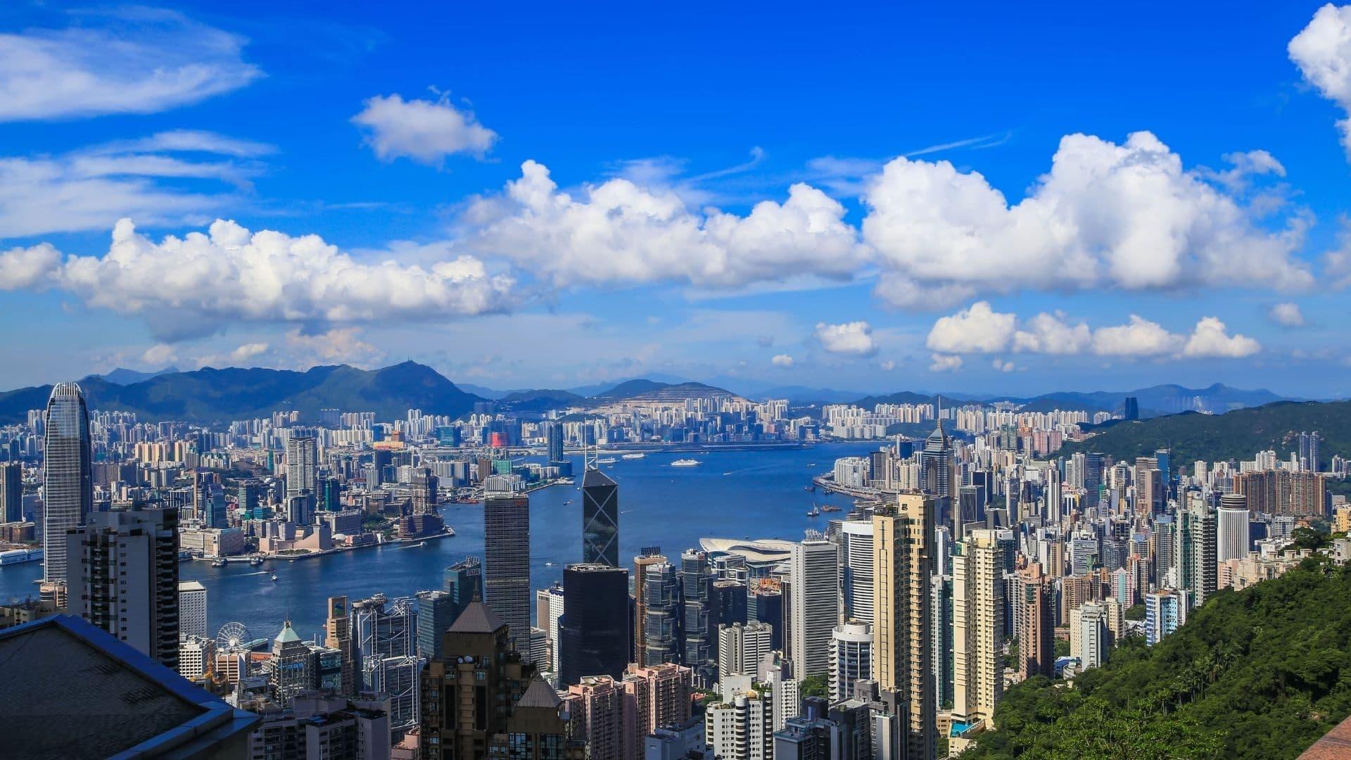 El pico victoria en Hong Kong