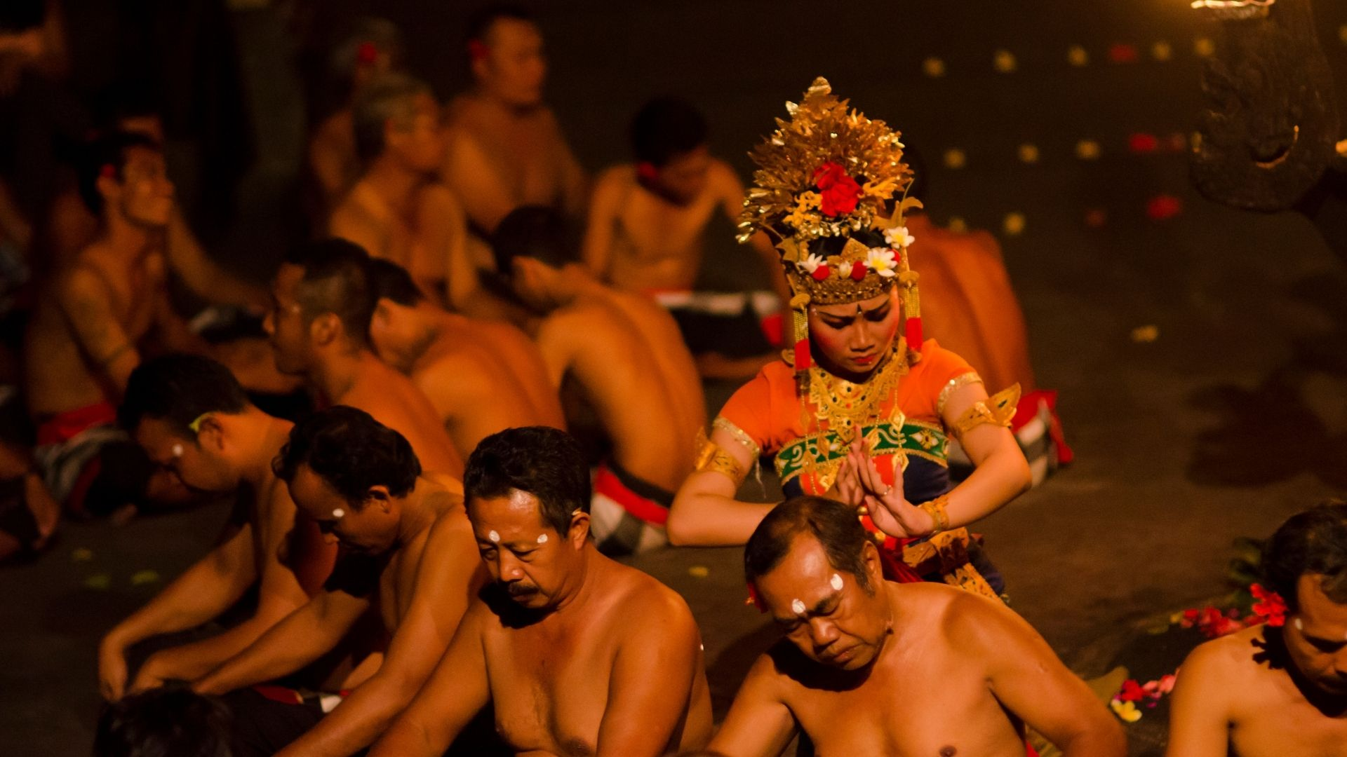 El Kecak es un baile tradicional de Bali
