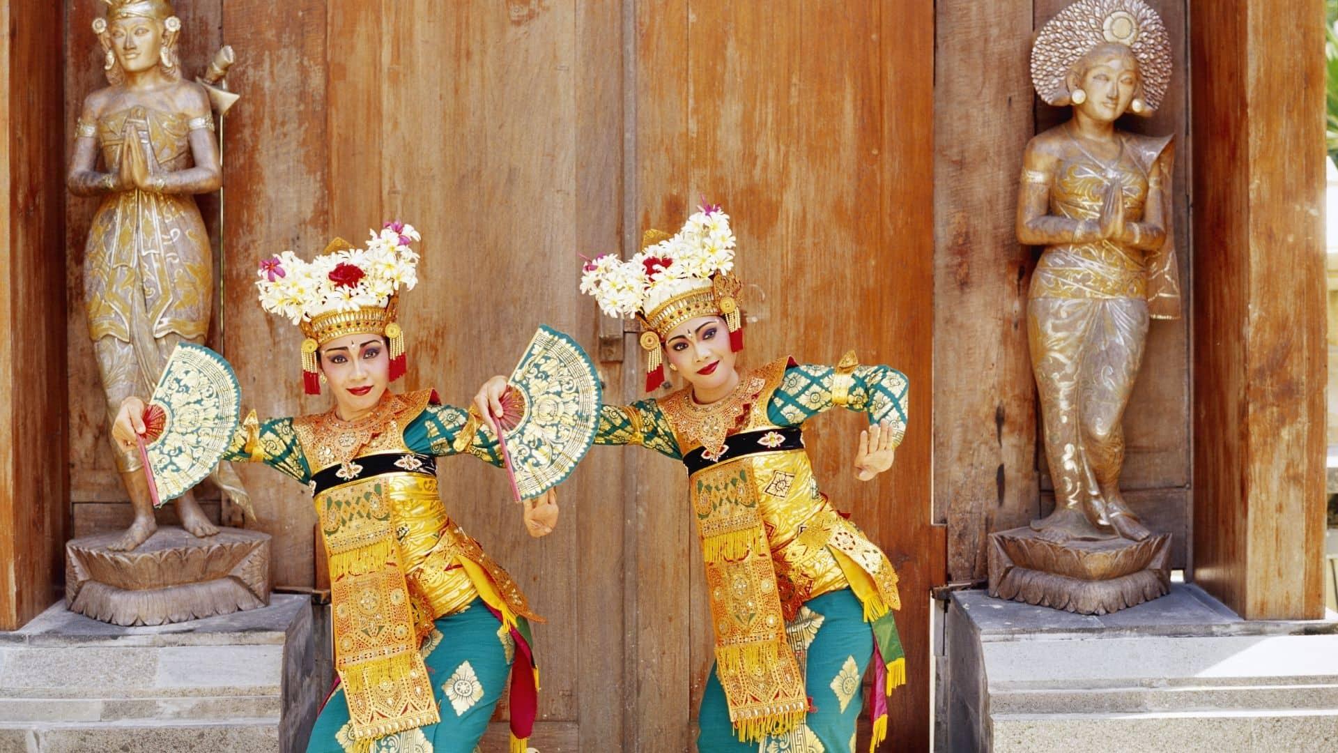 El legong es una baile tradicionale de Bali