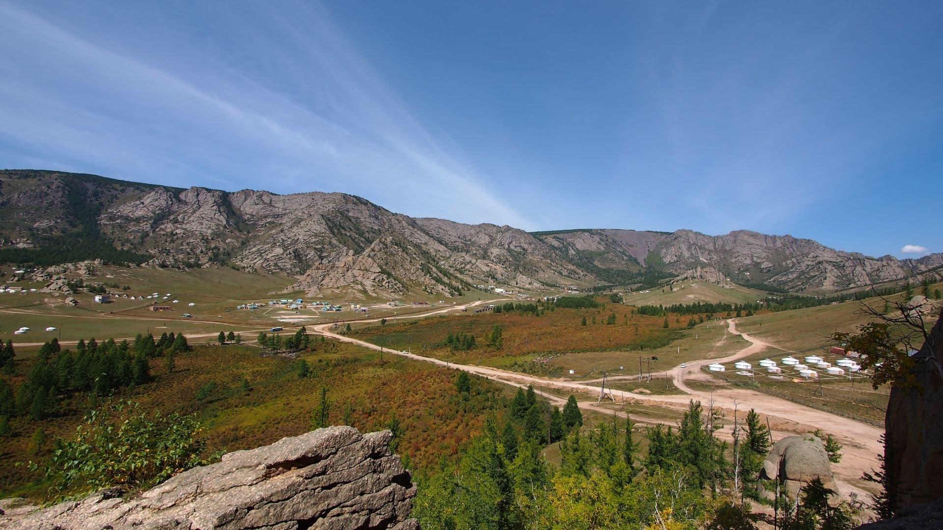 Parque Nacional de Terelj en Mongolia