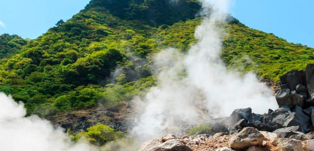 El Valle del Infierno de Owakudani en Japón