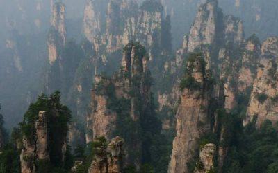 El parque natural de Zhang Jia Jie, China