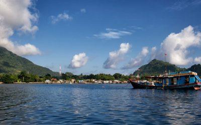 Las Islas Molucas en Indonesia