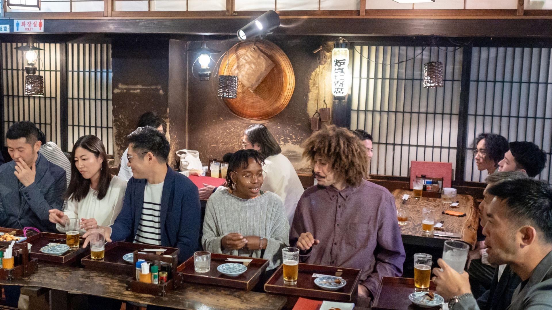 Restaurante tipo Izakaya