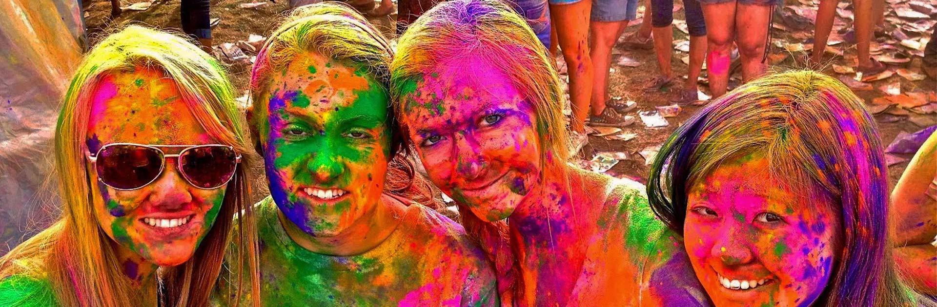 IN Festival de Holi 8 días 1