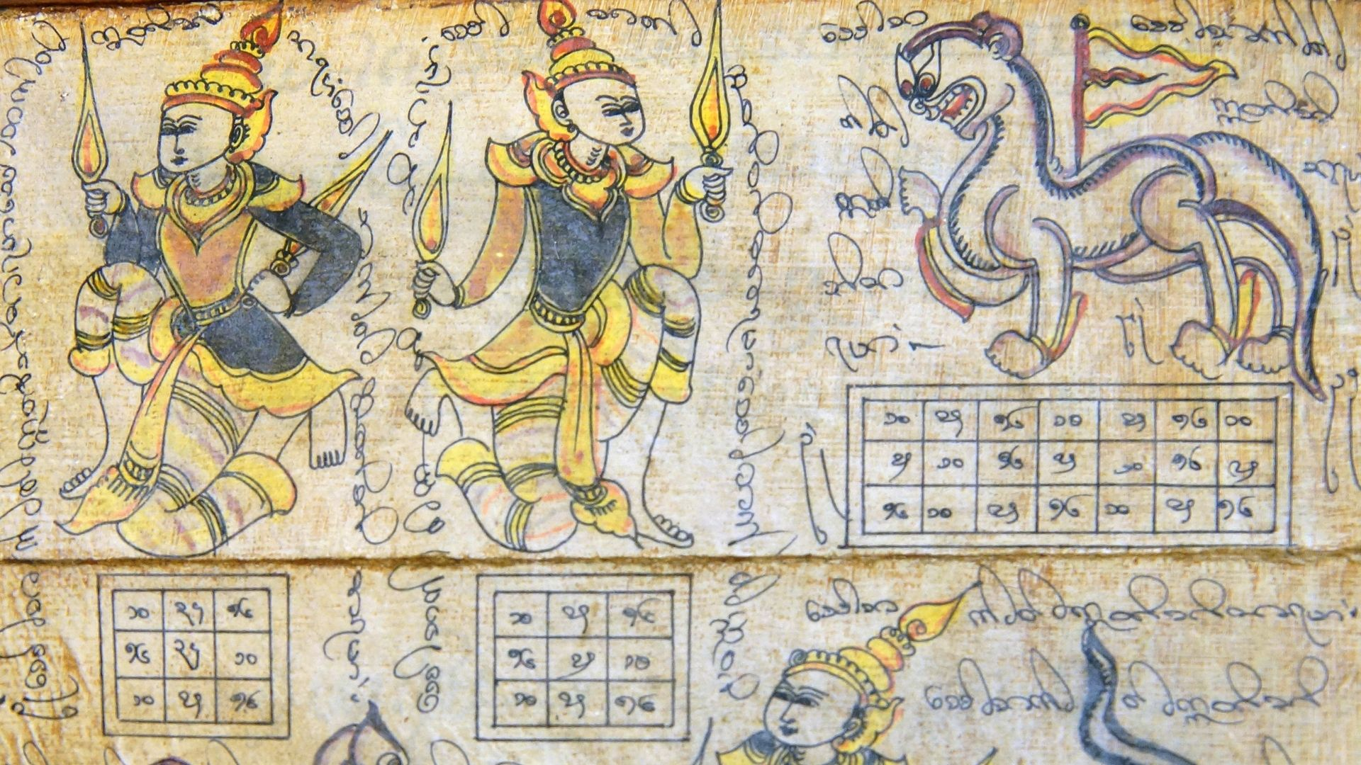 La astrologia y el curioso calendario de Myanmar