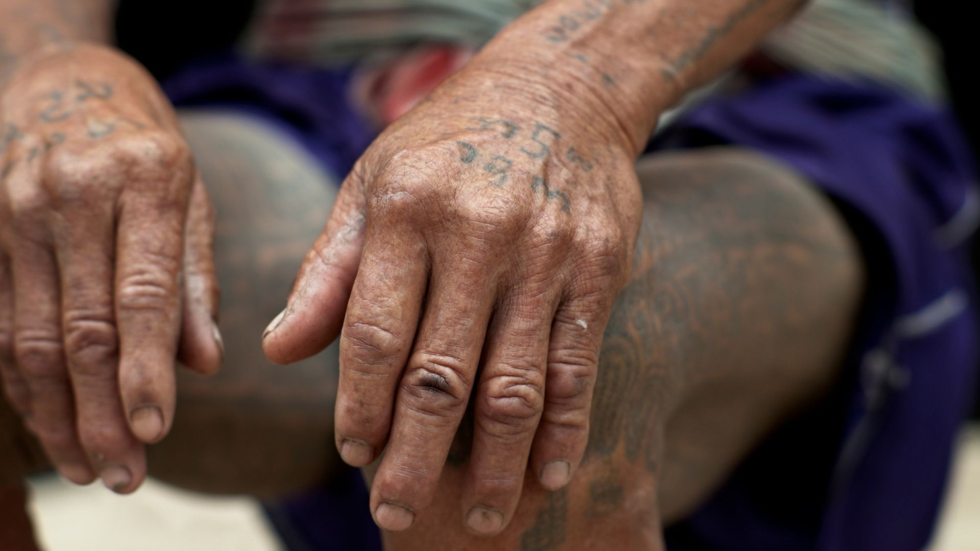 Tatuajes tradicionales de Myanmar