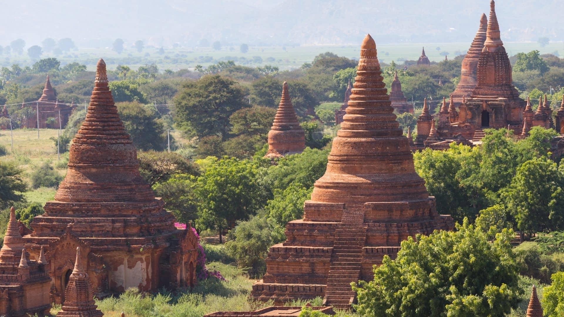 Bagan, uno de los 1000 templos de Myanmar