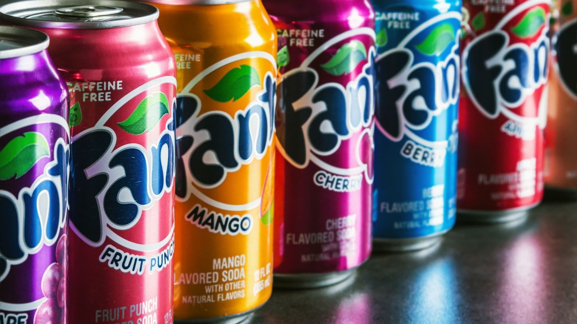 Hay más de 80 sabores disponibles en refresco fanta