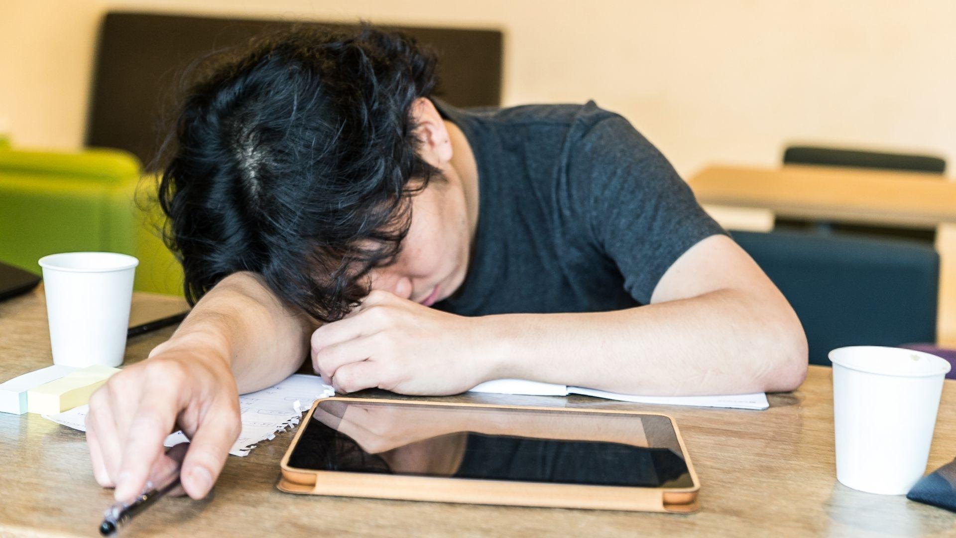En Japón te puedes dormir en cualquier dado incluido el trabajo