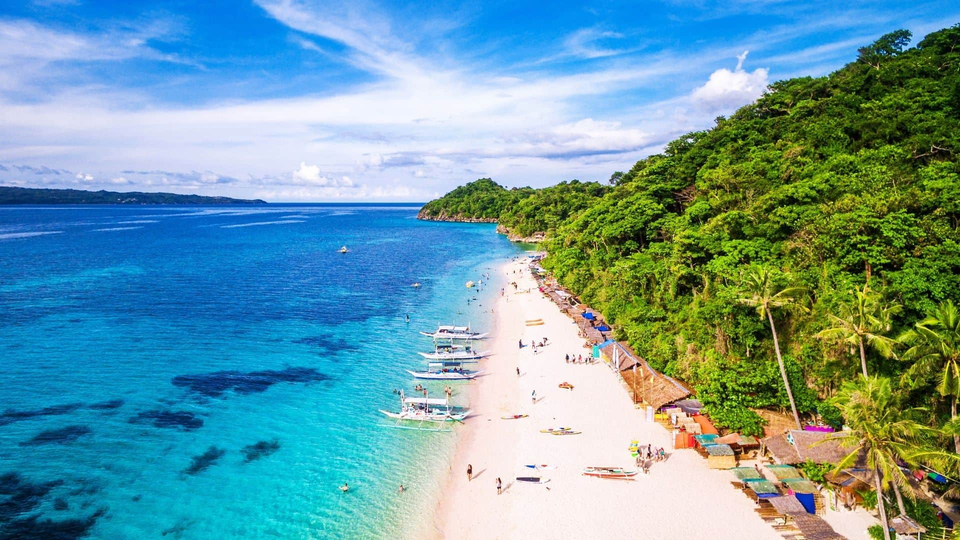 Boracay es una de las playas paradisiacas de Asia que debes visitar algún día