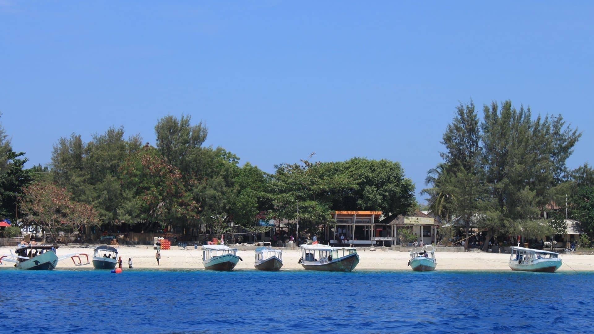 Gili Trawangan es una de las mejores playas que te encontrarás en las Islas Gili