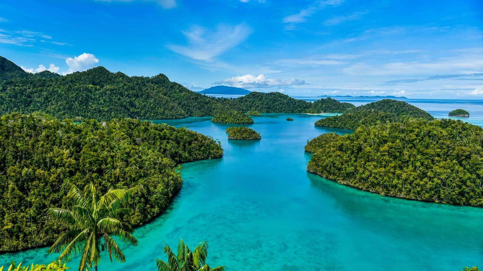 Mejores playas àra visitar en India está La isla de raja Ampat