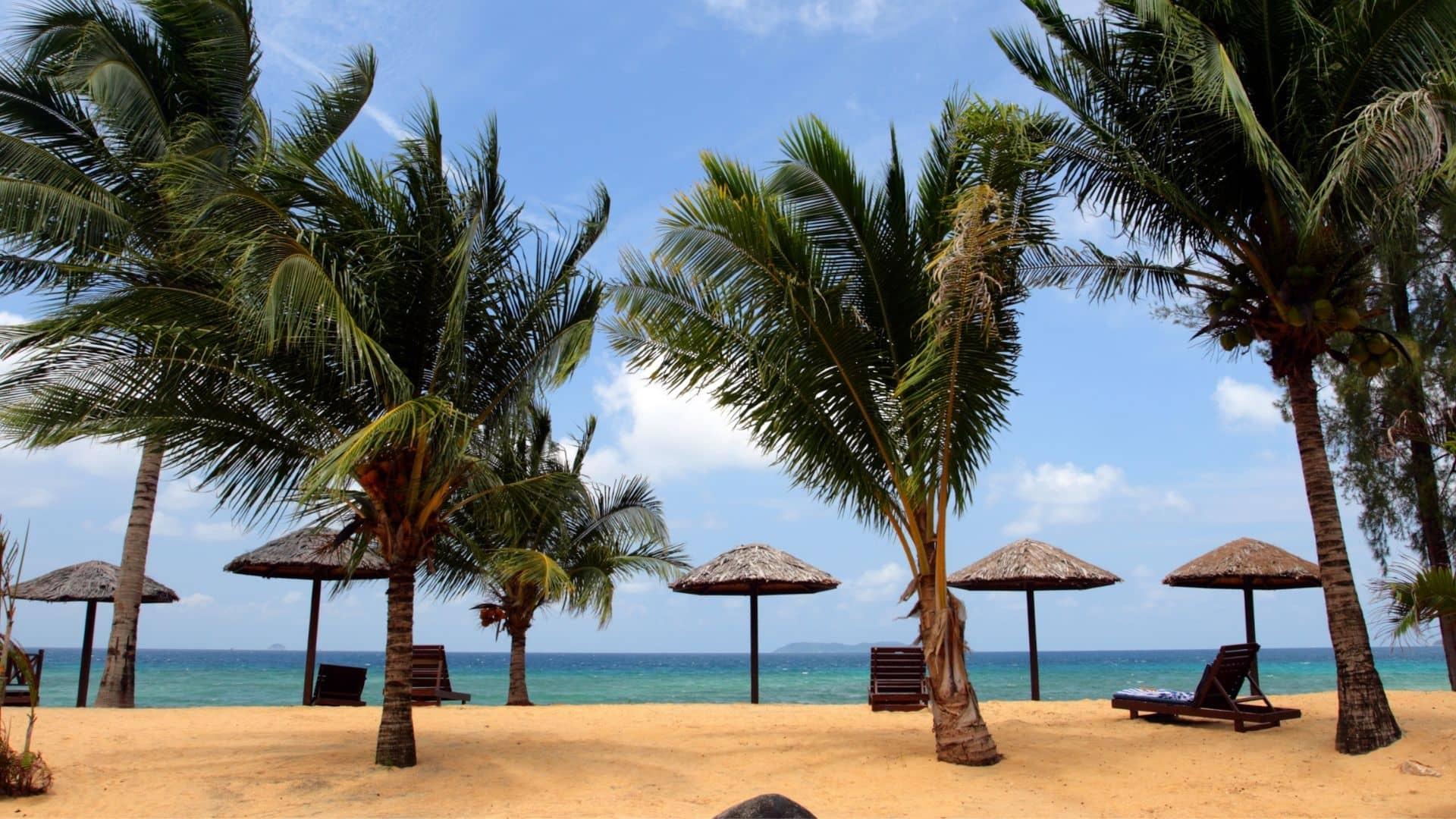 Una de las mejores playas de Malasia es la isla Tioman