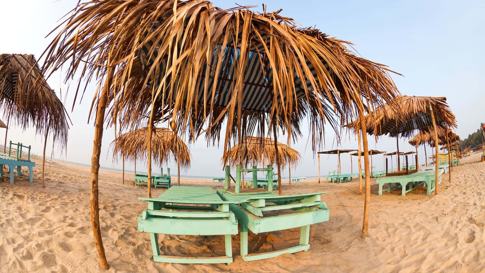 India goza de playas espectaculares como Patnem Beach en Goa