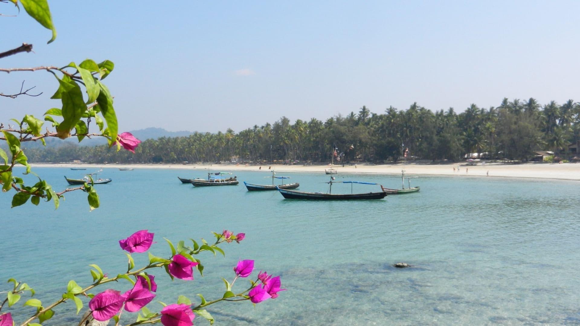 Las playas de Myanmar son un atractivo turístico que no te puedes perder