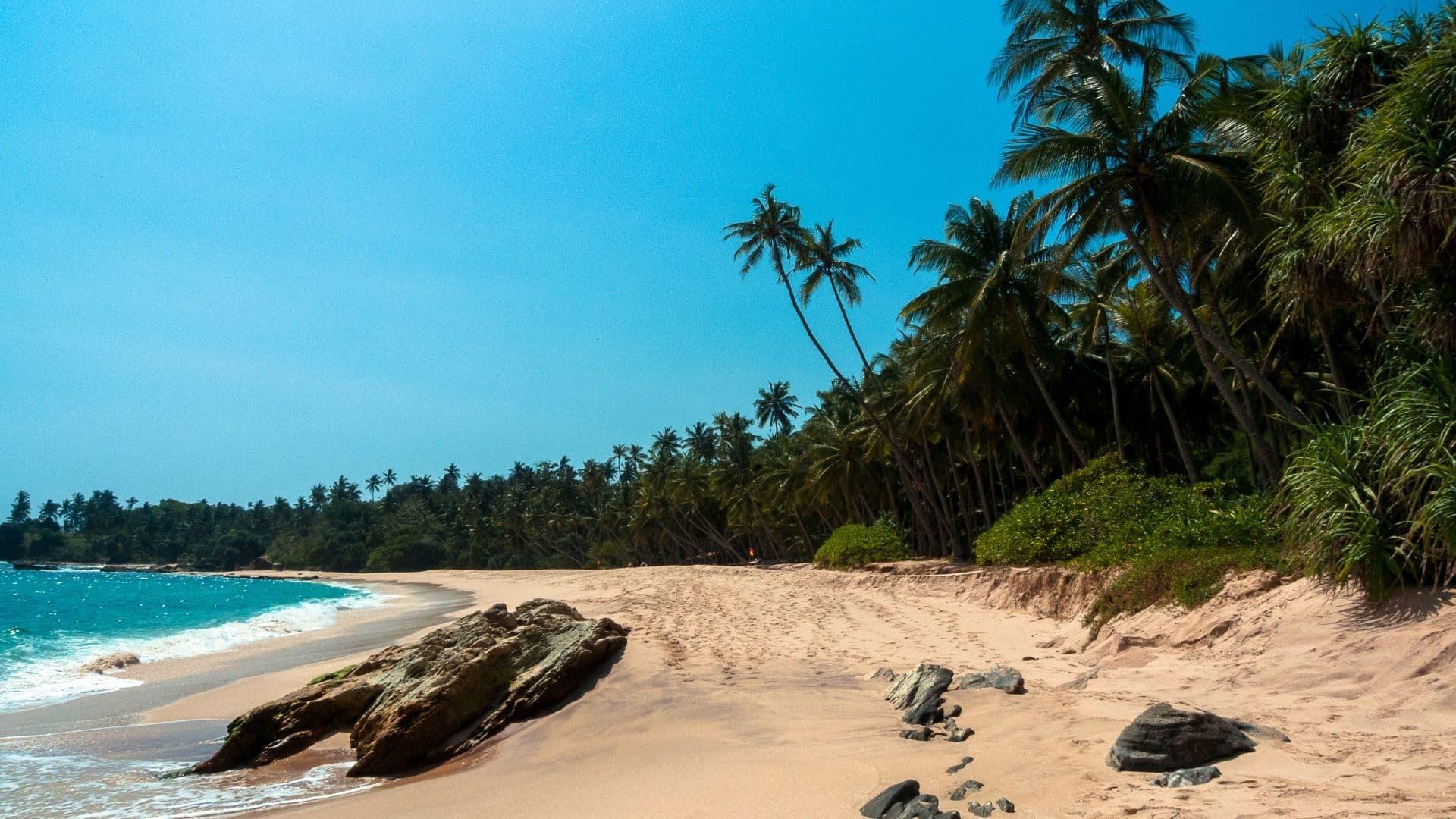 Sri Lanka es uno de los Países asiáticos con playas paradisíacas increíbles