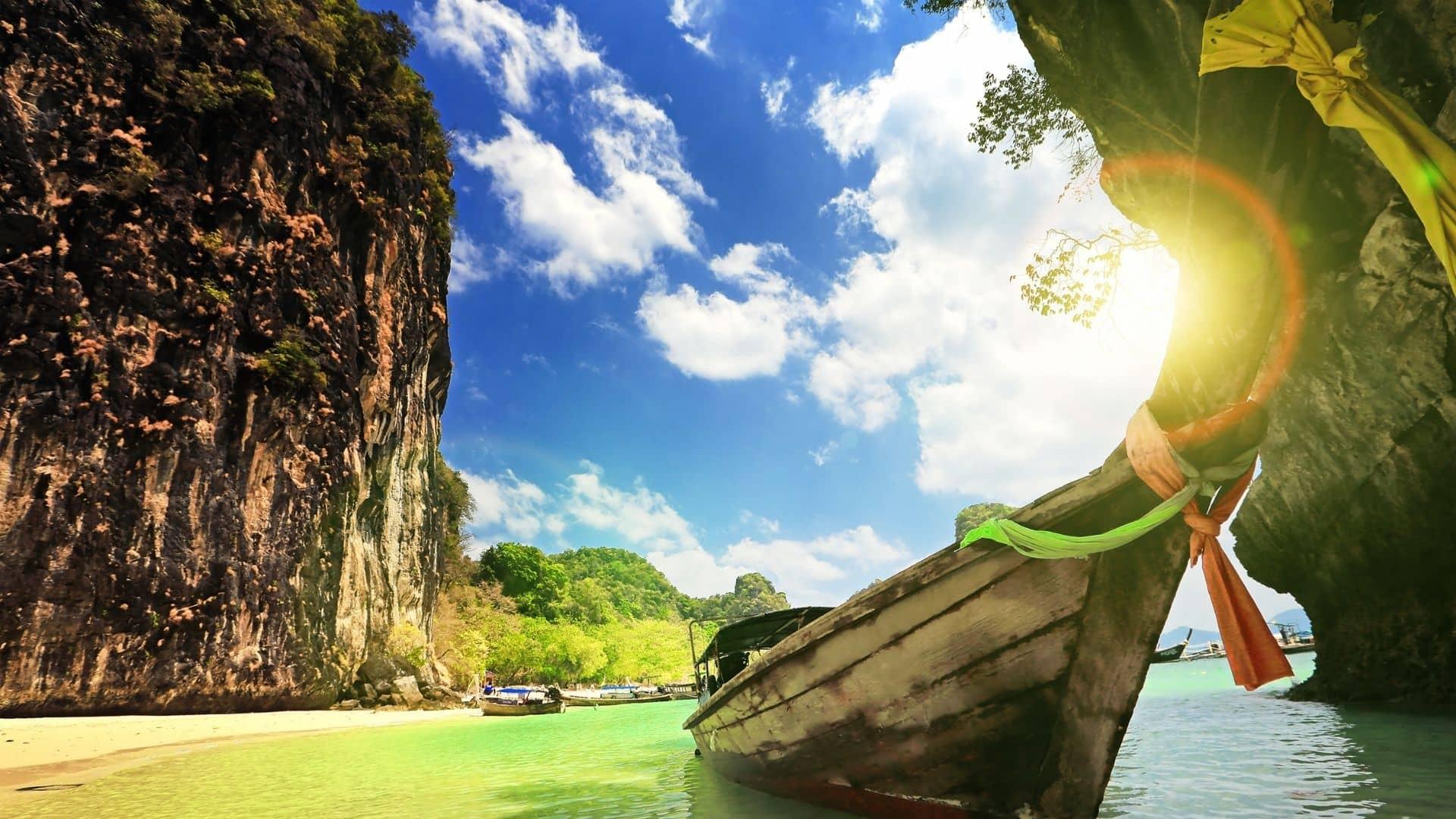 Railay en Krabi, una de las mejores playas de Asia