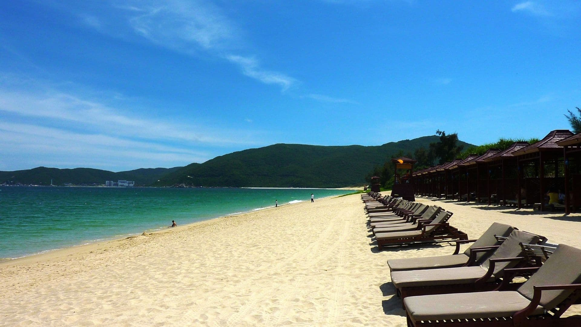 Una de las mejores palayas de Asia queda en China en la Bahía de Yalong