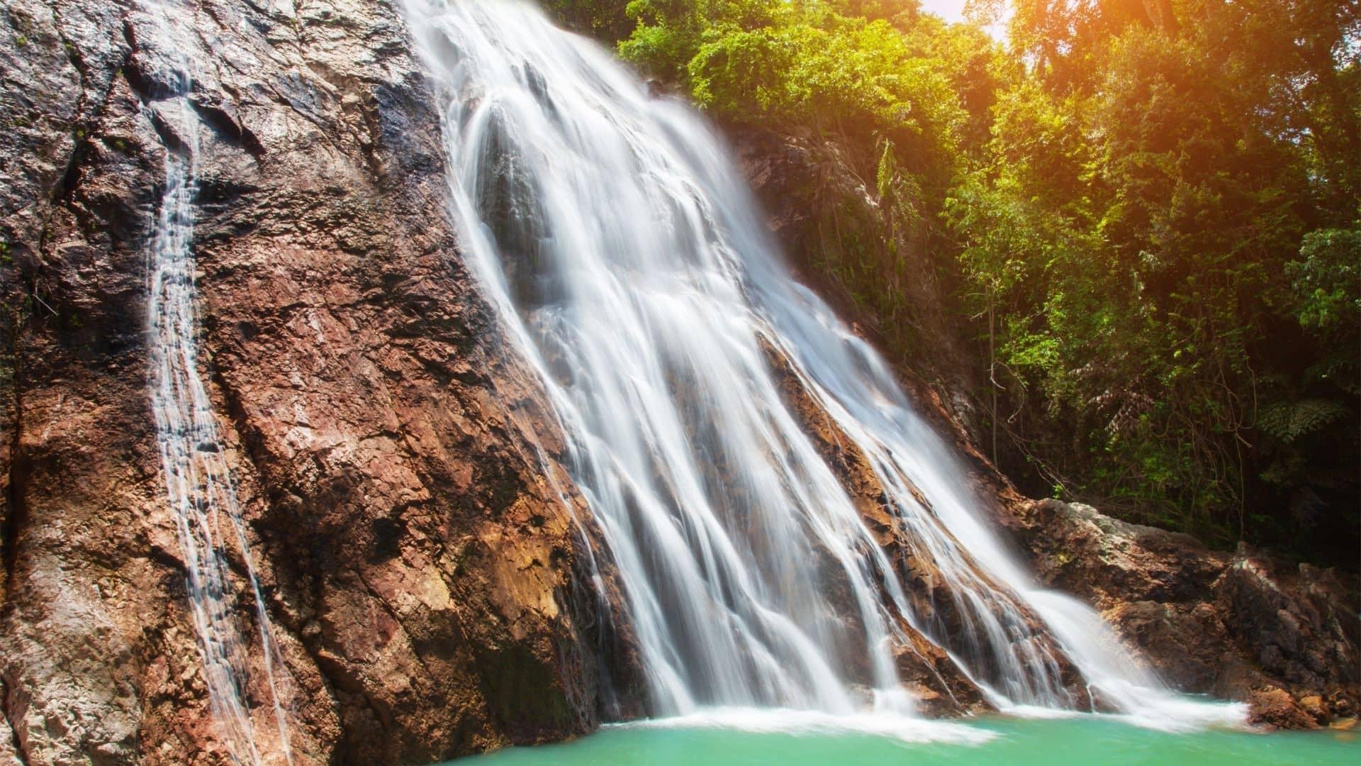 Cataratas de Na Muang en Koh Samui