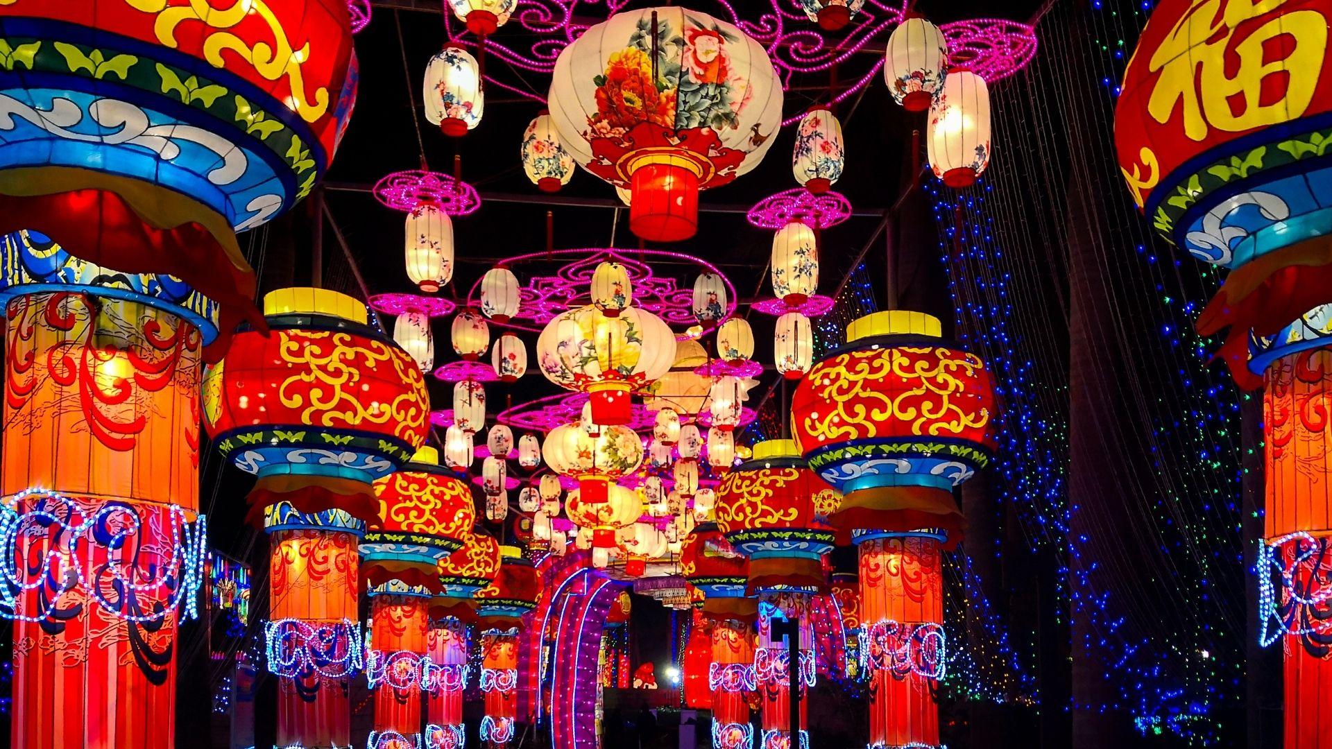 decoracion navidad en china