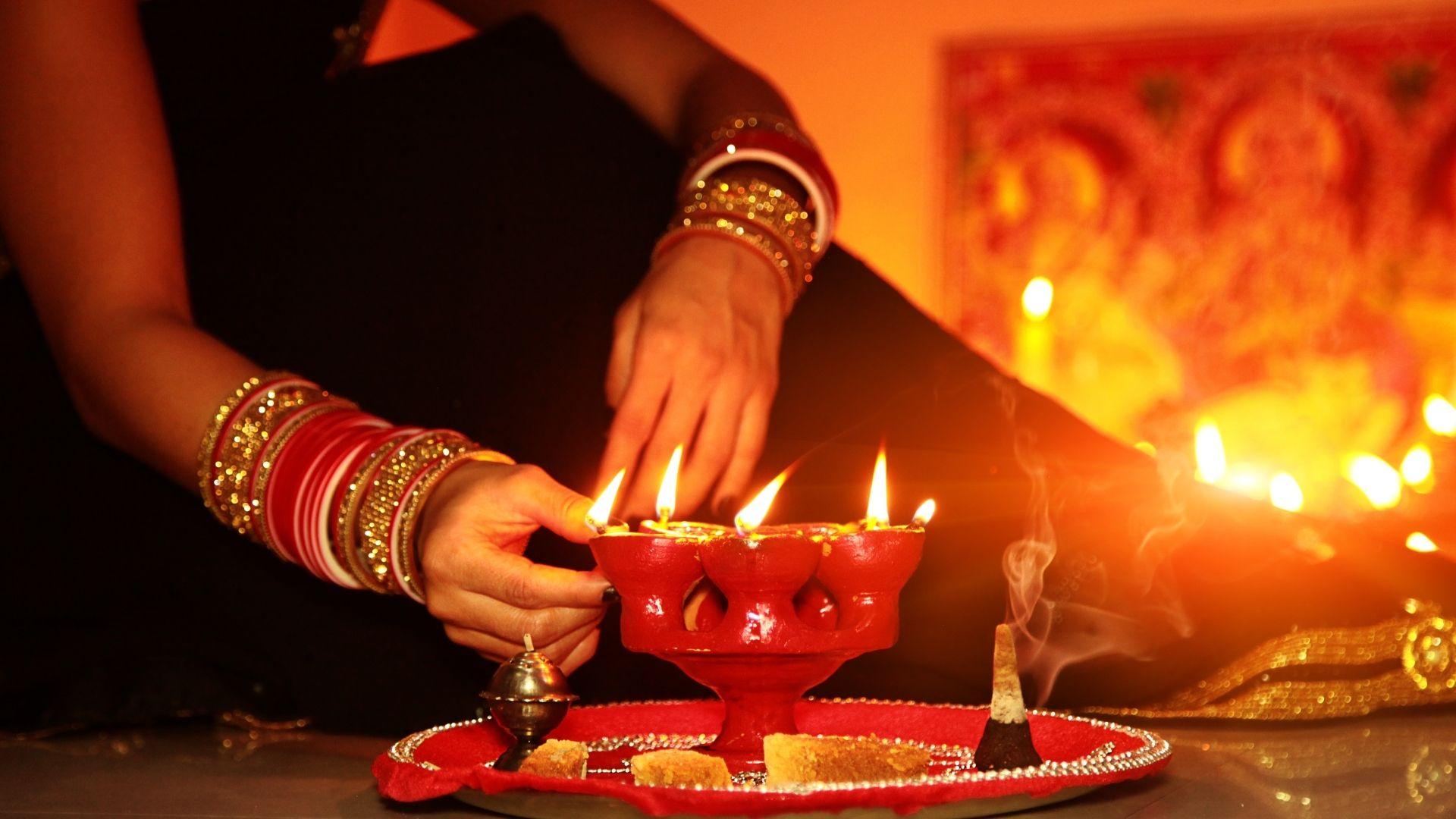 Diwali o celebracion navideña de India
