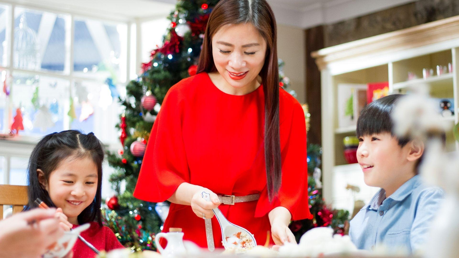 cómo se celebra la navidad en china