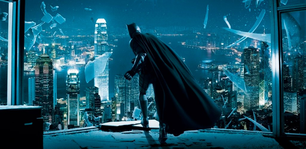 El Caballero Oscuro (Batman) en Hong Kong