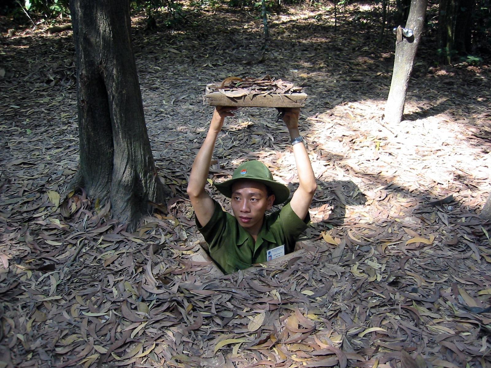 Los túneles de Cu chi: vestigios de la guerra de Vietnam