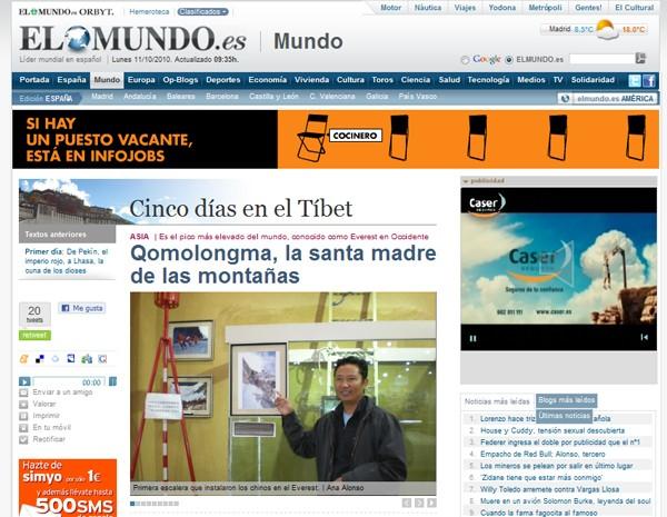 Cinco días en el Tíbet