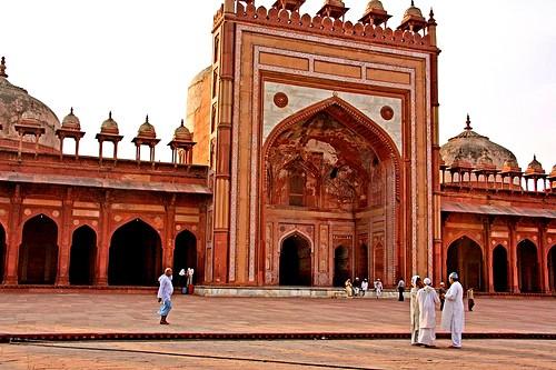 La belleza de Fatehpur Sikri, India