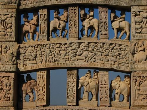 La mística de Sanchi en India