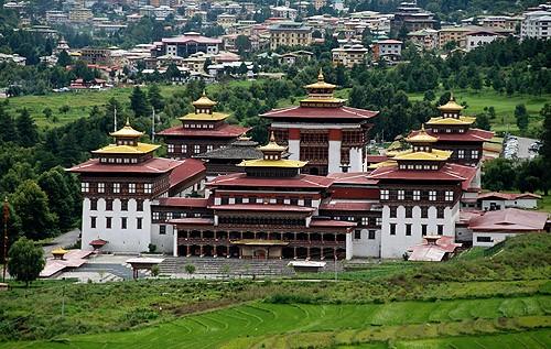 Los monasterios fortificados de Bhutan