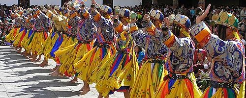 Las bodas en Butan
