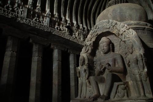 Los templos y grutas de Ellora