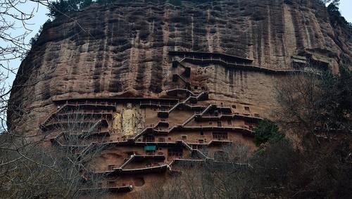 El arte budista de Maijishan, China