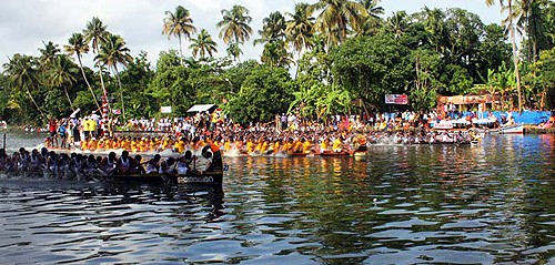 El Trofeo-Regata Nehru de Kerala