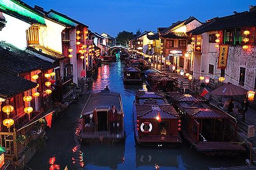 Los jardines de Suzhou, China