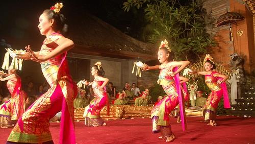 Las danzas de Bali