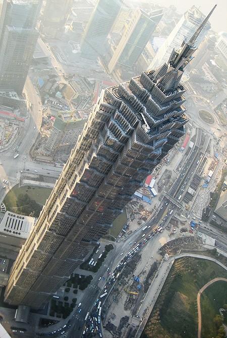 Shanghai y el rascacielos Jin Mao