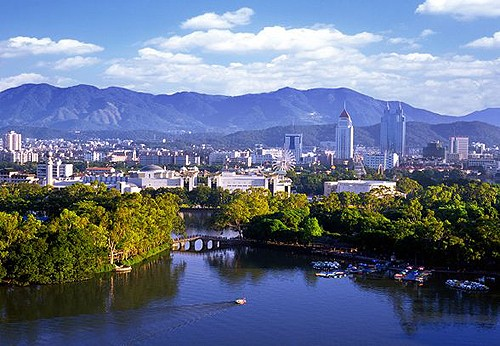La ciudad del mar de ficus: Fuzhou