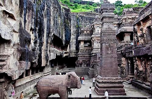 India: Las cuevas de Aurangabad