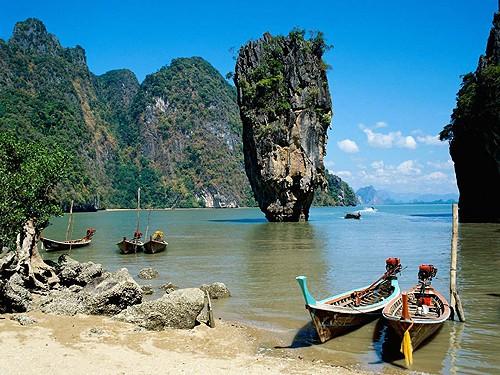 Tailandia: La bahía de Phang Nga