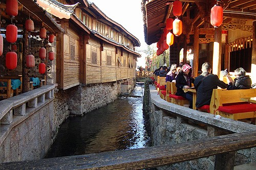 Belleza ancestral en Lijiang, China