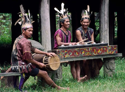 Exotismo en Kalimantan, Indonesia